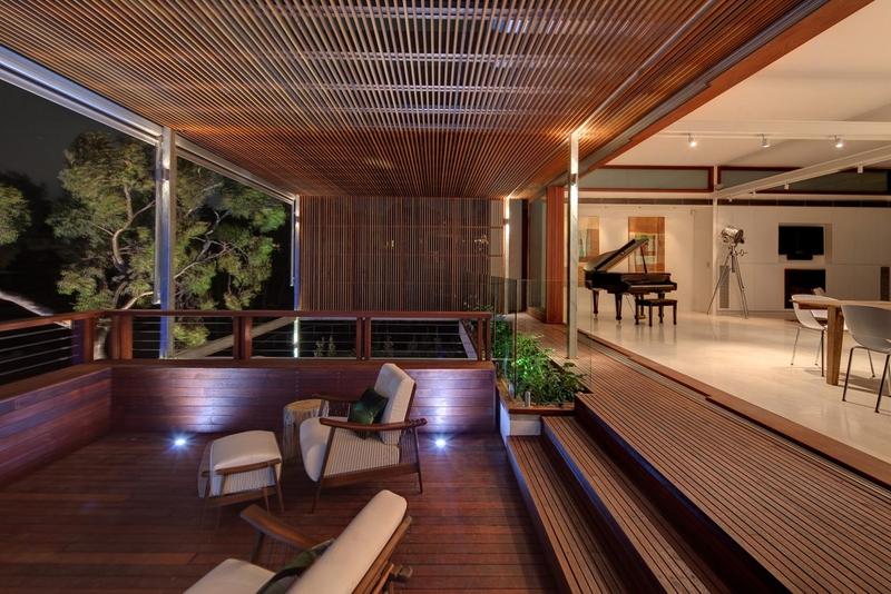 Terrasse interieure exterieure