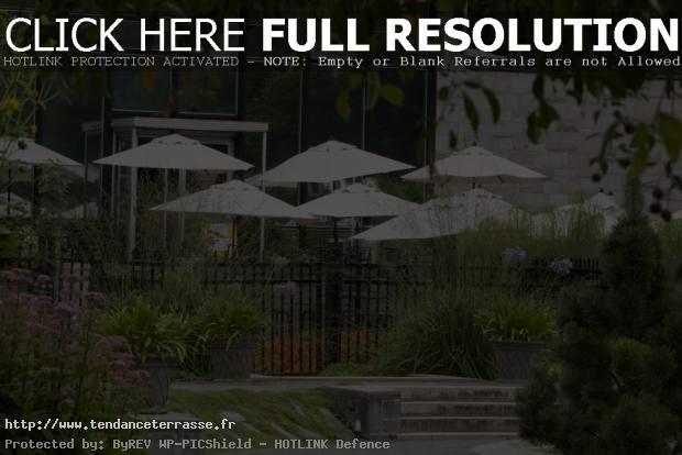 terrasse jardin botanique