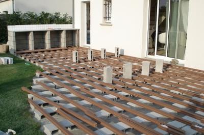 terrasse jardin composite