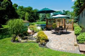 terrasse jardin cout