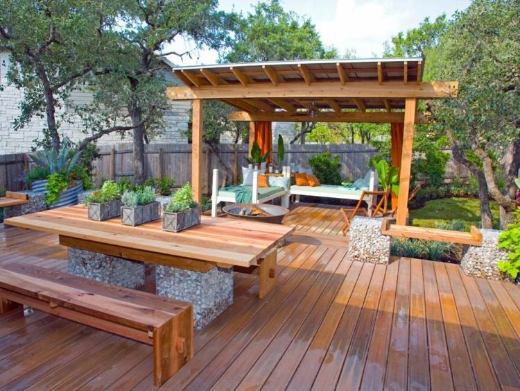 terrasse jardin couverte