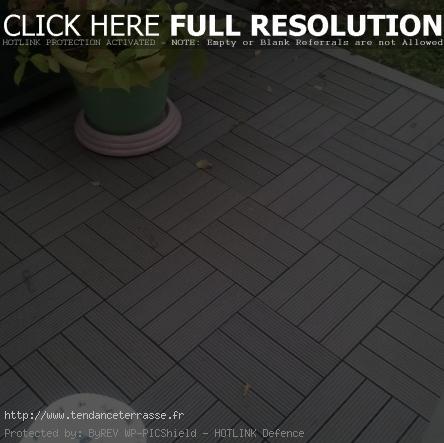 terrasse jardin dalle
