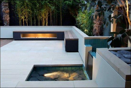 Terrasse moderne design