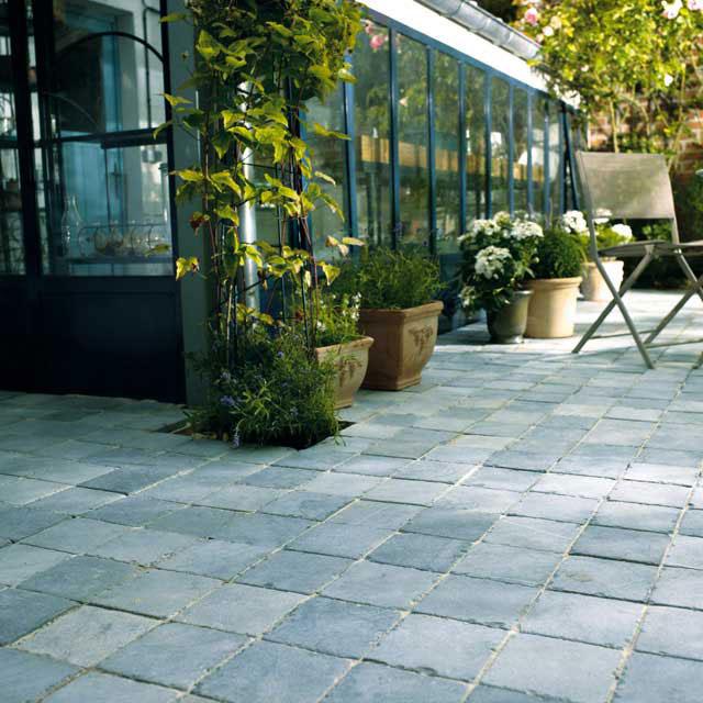 Terrasse pierre bleue castorama