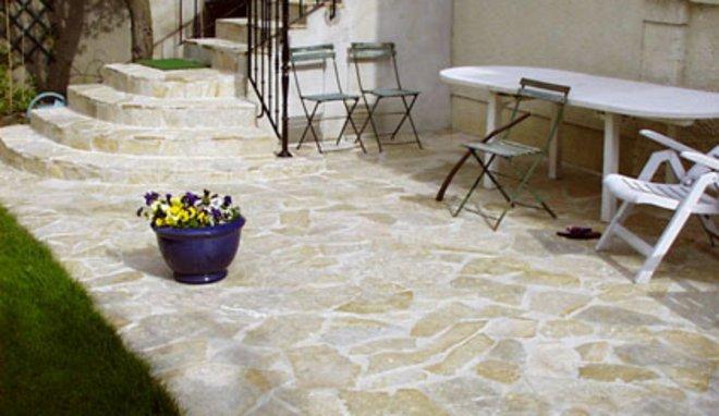 Terrasse pierre pas cher