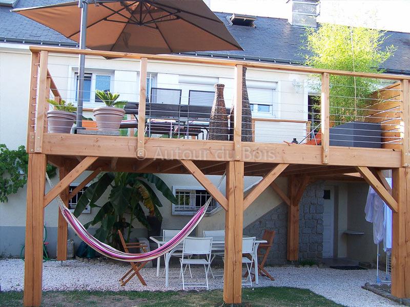 terrasse pilotis bois prix