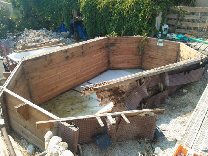 Terrasse piscine bois forum