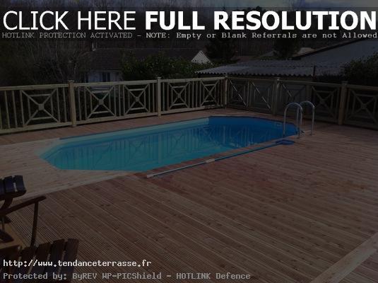 terrasse piscine meleze