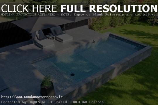terrasse piscine originale