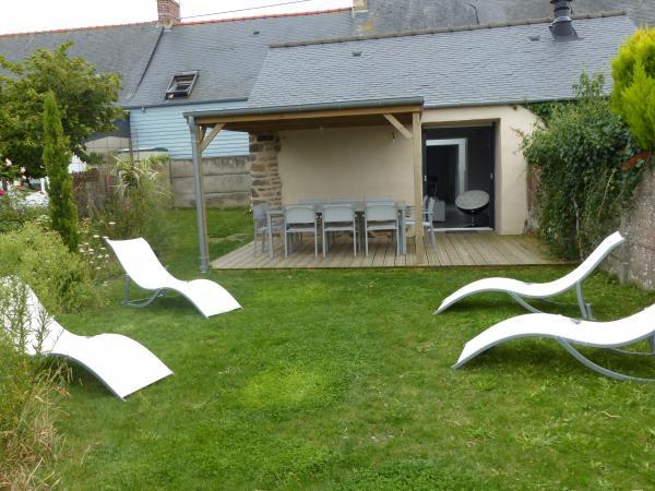 Terrasse semi couverte pour maison