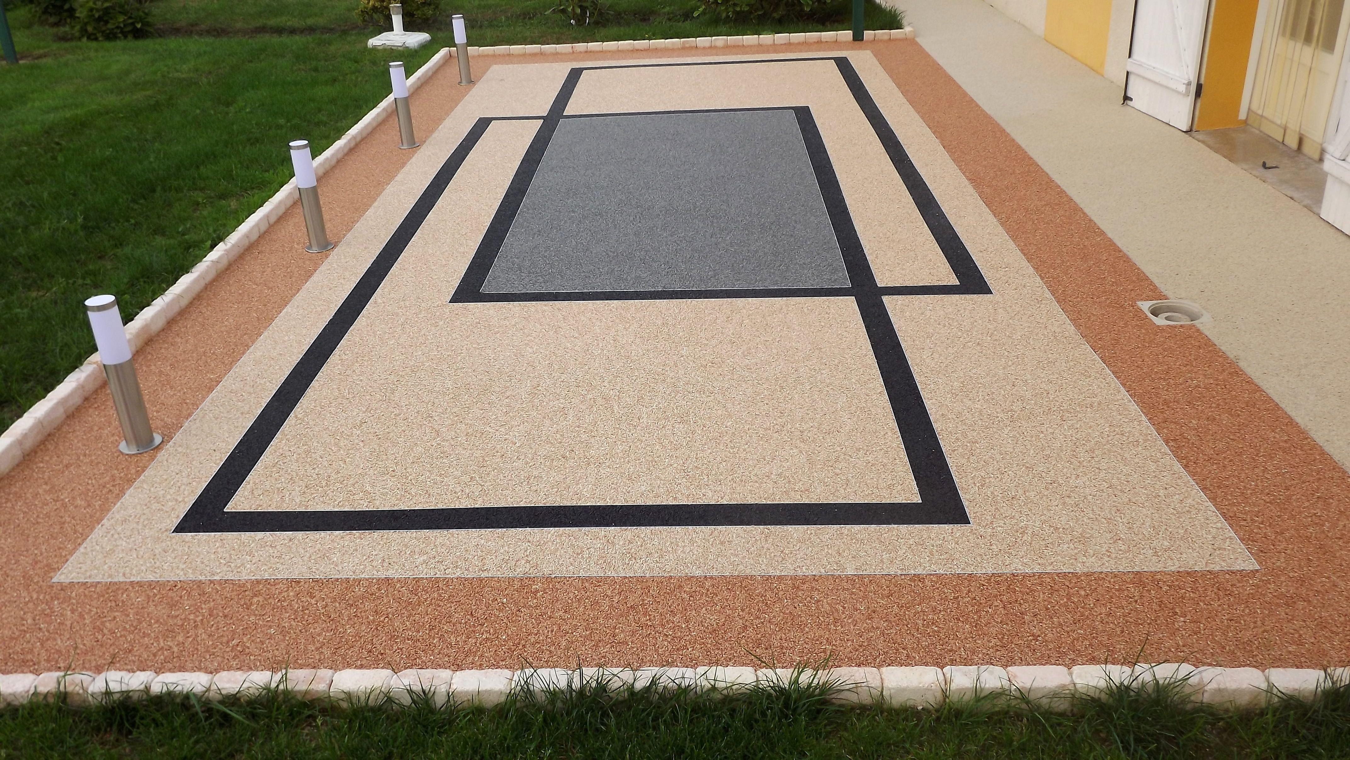 terrasse sol resine