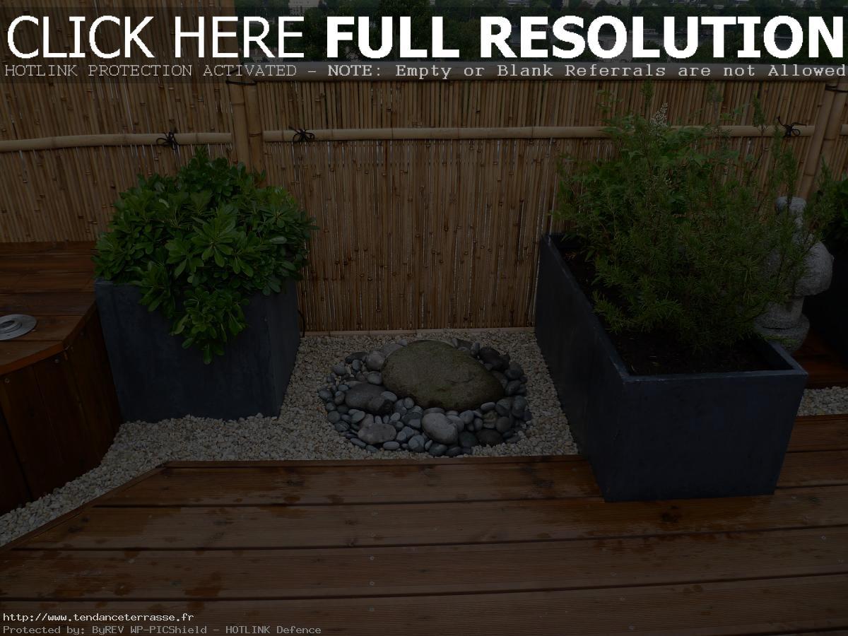 Terrasse style japonais
