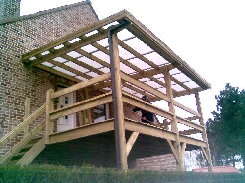 terrasse suspendue couverte