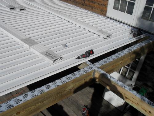 Terrasse suspendue etanche