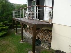 terrasse suspendue permis de construire