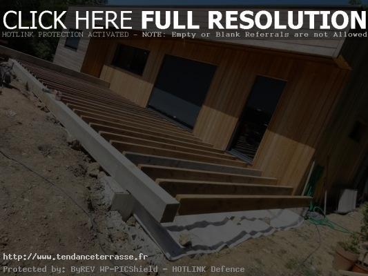terrasse suspendue plan