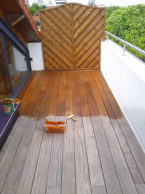 terrasse teck entretien